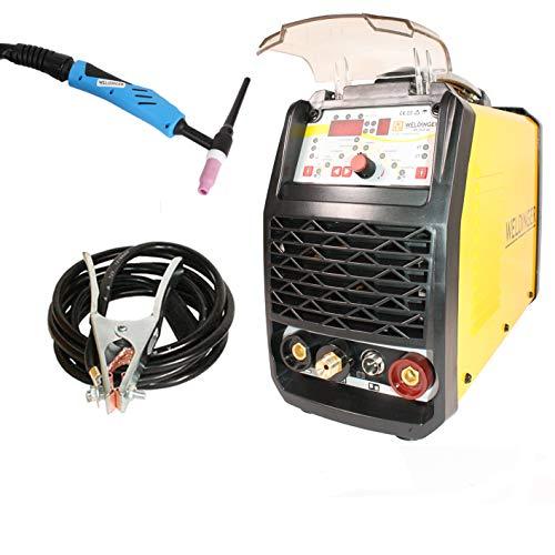 WELDINGER WIG-Schweißgerät WE 202P DC HF-Zündung Puls digitale Steuerung 200 A