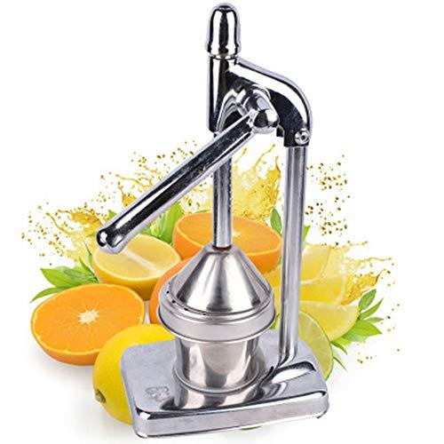 Juice Squeezer, Juice Squeezer Manual Orange Edelstahl-Entsafter, Zitronensaftpresse Granatapfel, Handgepresster Zitrus-Entsafter