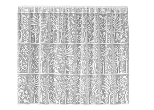 Heritage Lace Rabbit Hollow Tier, 60 by 30-Inch, White