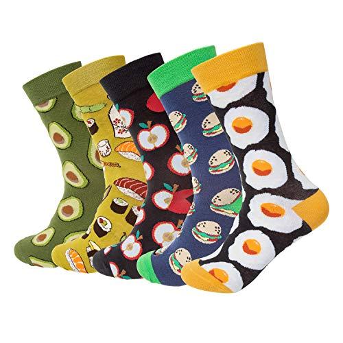 Funny Novelty Food Socks Space Animal Shark Socks Gifts for Men Women
