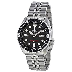 Seiko Men's SKX007K2 Diver's Automatic Watch - see full details