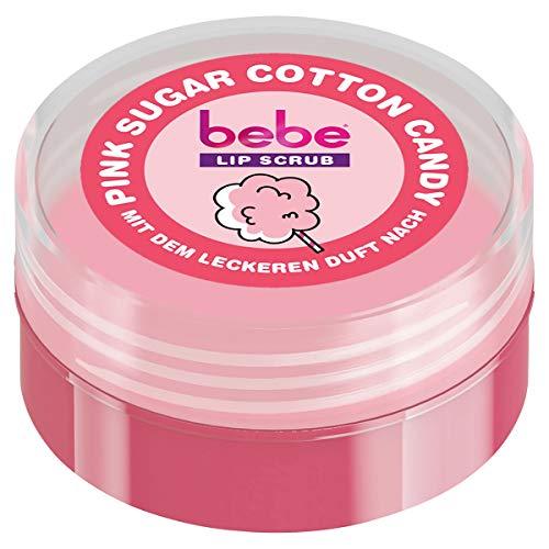 bebe Lip Scrub Pink Sugar Cotton Candy, 12 g