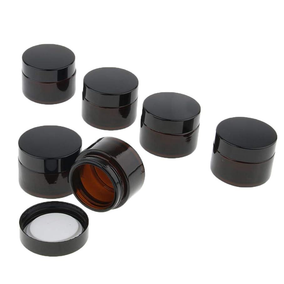マグ無声で沈黙CUTICATE コスメジャー メイクアップ 化粧品 小分け用 詰替え容器 3サイズ選べ 6個 - 20g