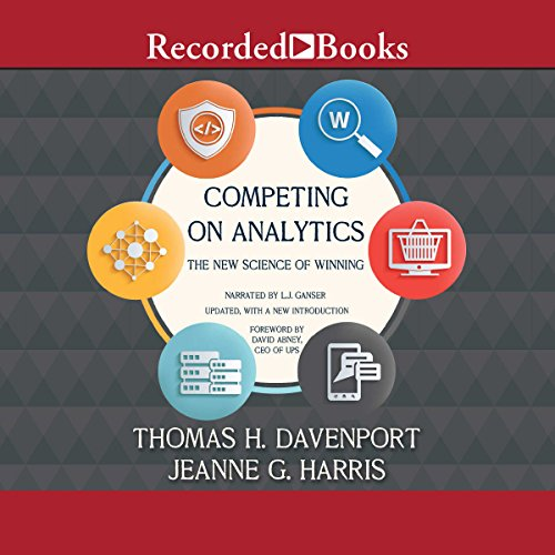 Competing on Analytics audiobook cover art