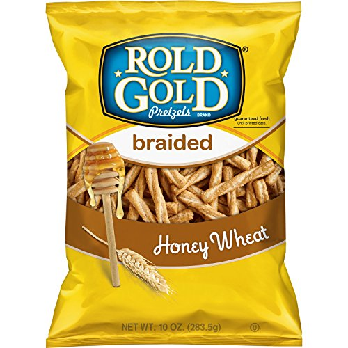 Rold Gold Braided Honey Wheat Pretzels, 10 Ounce