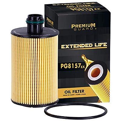 PG Oil Filter, Extended Life PG8157EX| Fits 2014-18 Ram 1500, 2014-20 Jeep Grand Cherokee, 2019 Ram 1500 Classic, 2018-19 Maserati Quattroporte, Levante, 2019 Ghibli