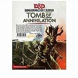Gale force Nine LLC GF973708 D and D Tomb of Anihilation DM Screen Juego de Mesa, Multicolor