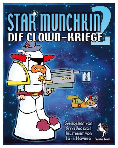 Pegasus Spiele 17131G - Star Munchkin 2: Clown-Kriege