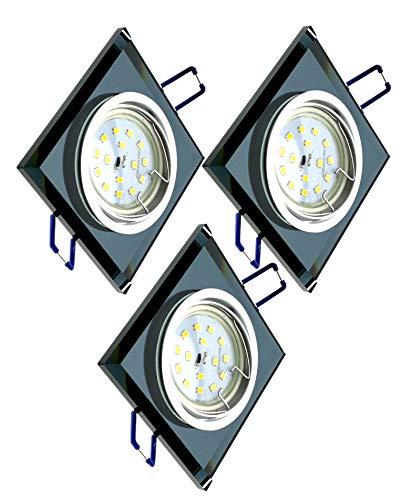 Trango Conjunto de 3 Proyectores LED empotrados de diseño