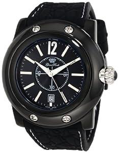 Glam Rock Women's GR30018BB Miami Black Dial Black Silicone Watch