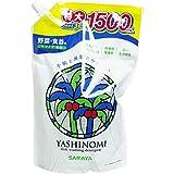 【まとめ買い】サラヤ ヤシノミ洗剤 野菜・食器用 つめかえ用 1500mL ×3個