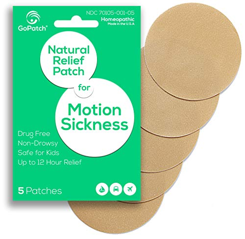 GoPatch Natural Relief Patch for Motion Sickness