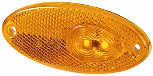 HELLA 2PS 964 295-061 Seitenmarkierungsleuchte, Anbau links/rechts, LED, 500 mm Kabel, 12 V