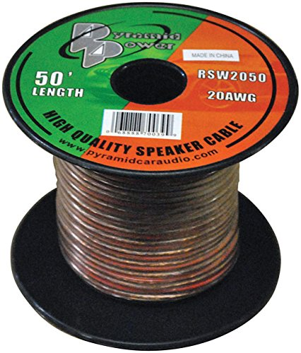 Colors vary Pyramid RSW14100 14 Gauge 100 ft of High Quality Speaker Wire