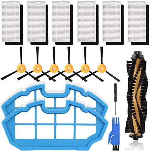 QAQGEAR Kit de accesorios para aspiradora robótica EcoVacs