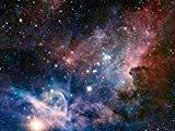1art1 Der Weltraum - Sternengeburt Im Carinanebel, 2-Teilig Fototapete Poster-Tapete 240 x 180 cm