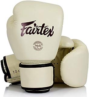 Fairtex Muay Thai Compact Lightweight Genuine Leather Womens Gloves - BGV16 - Khaki