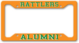 The Turnip Seed Co Rattlers Alumni - FAMU Colors - License Plate Frame LP1598