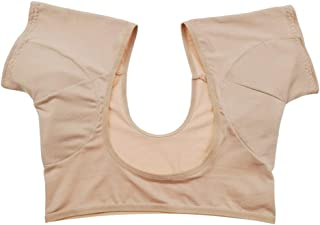 HEALLILY coussinets anti-transpiration aisselles pour femmes lavables pour robe de course entraînement de gymnastique spor...