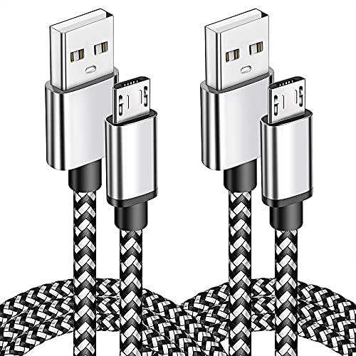 Cables Micro USB Android Cargador rápido Cable 1,8 m + 10 pies para Samsung Galaxy S7 para Samsung Galaxy S7