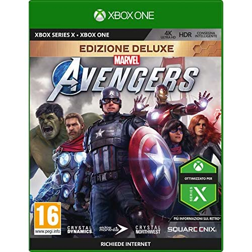 Marvel's Avengers - Deluxe Edition - Day-One - Xbox One