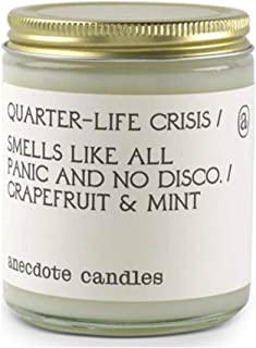Anecdote Candles Glass Jar Candle   Quarter Life Crisis - 7.8 Oz