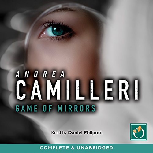 Game of Mirrors audiobook cover art