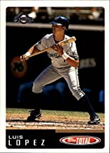 2002 Topps Total #211 Luis Lopez MLB Baseball Trading Card