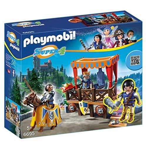 PLAYMOBIL- Royal Tribune with Alex Playset, Multicolor (6695)