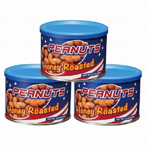 ハニーロースト ピーナッツ 3缶セット【アメリカ 海外土産 輸入食品 スナック ナッツ 】