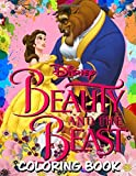 Beauty and The Beast Coloring Book: Great gift for kids and adults
