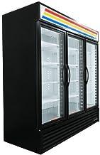 True GDM-72-HC-LD Glass Swing Door Refrigerator W/ LED Lighting