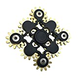 COOLCT Hand Spinner Fidget Toy Novelty Nine Linkage Gear Spinner Fidget Toy Anxiety Relief Toy Gifts