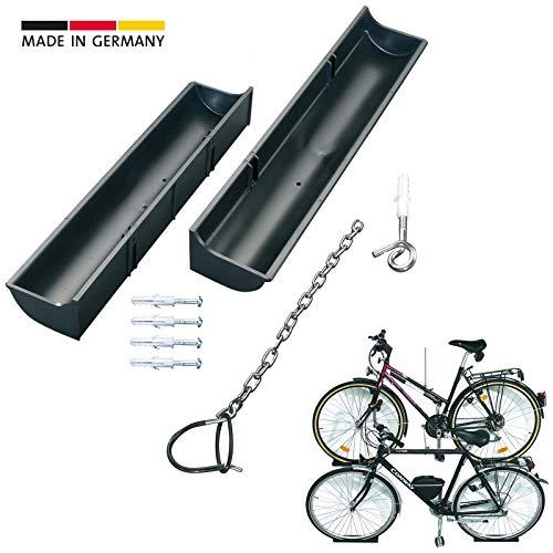 Eufab  Fahrradwandhalter Wandhalterung Fahrrad Wandhalter Tragkraft 25 kg
