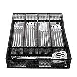 Cedilis Cutlery Tray, 5 Compartments Flatware...