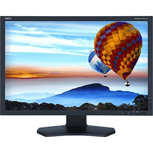 NEC PA242W-BK LCD MONITOR - TFT ACTIVE MATRIX - 24.1 INCH - 1920 X 1200 - 340CD/M2 - 1000:1 -