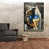 Sadhaf famosa pintura al óleo reproducción carteles y obras de arte pintura decorativa sala de estar decoración del hogar A2 40x50cm