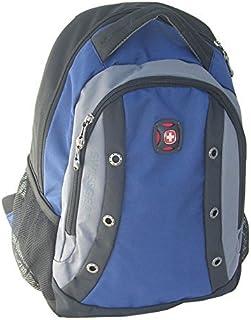 """SwissGear 16"""" Laptop Computer Backpack, Tablet eReader Pocket (Blue)"""