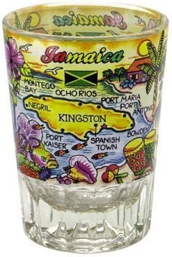 outlet Jamaica Price reduction Double Shot Glass
