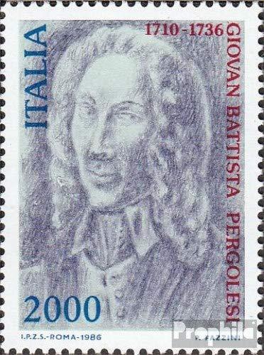 Prophila Collection Italien 1962 (kompl.Ausg.) 1986 G. B. Pergolesi (Briefmarken für Sammler) Musik / Tanz