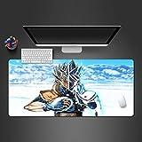 PKUOUFG Dibujos Animados Personaje Nieve Antideslizante Alfombrilla de ratón (700x300x898mm) Alfombrilla de ratón para Videojuegos tamaño Grande Mejora la precisión y la Velocidad también para ratón