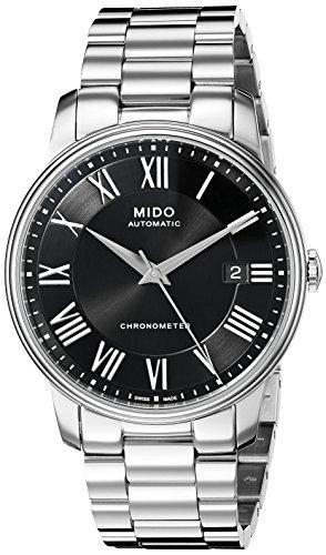 [ミドー]Mido 腕時計 M0104081105309 Baroncelli Watch Black Dial M010.408.11.053.09 [並行輸入品]