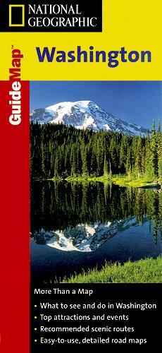 Washington State Guide Map: NG.GM48.00602085 (NG GuideMaps) [Idioma Inglés]