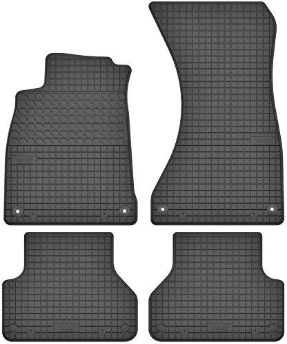 Motohobby Gummimatten Gummi Fußmatten Satz für Audi A4 B9 / A5 F5 (ab 2015) - Passgenau