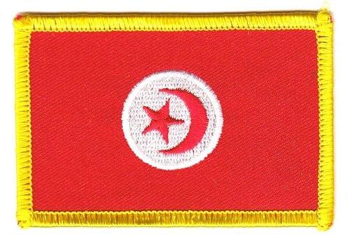 Aufnäher Patch Tunesien Fahne Flagge FLAGGENMAE®