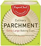 PaperChef (2 Pack) Extra Large Paper Cupcake...