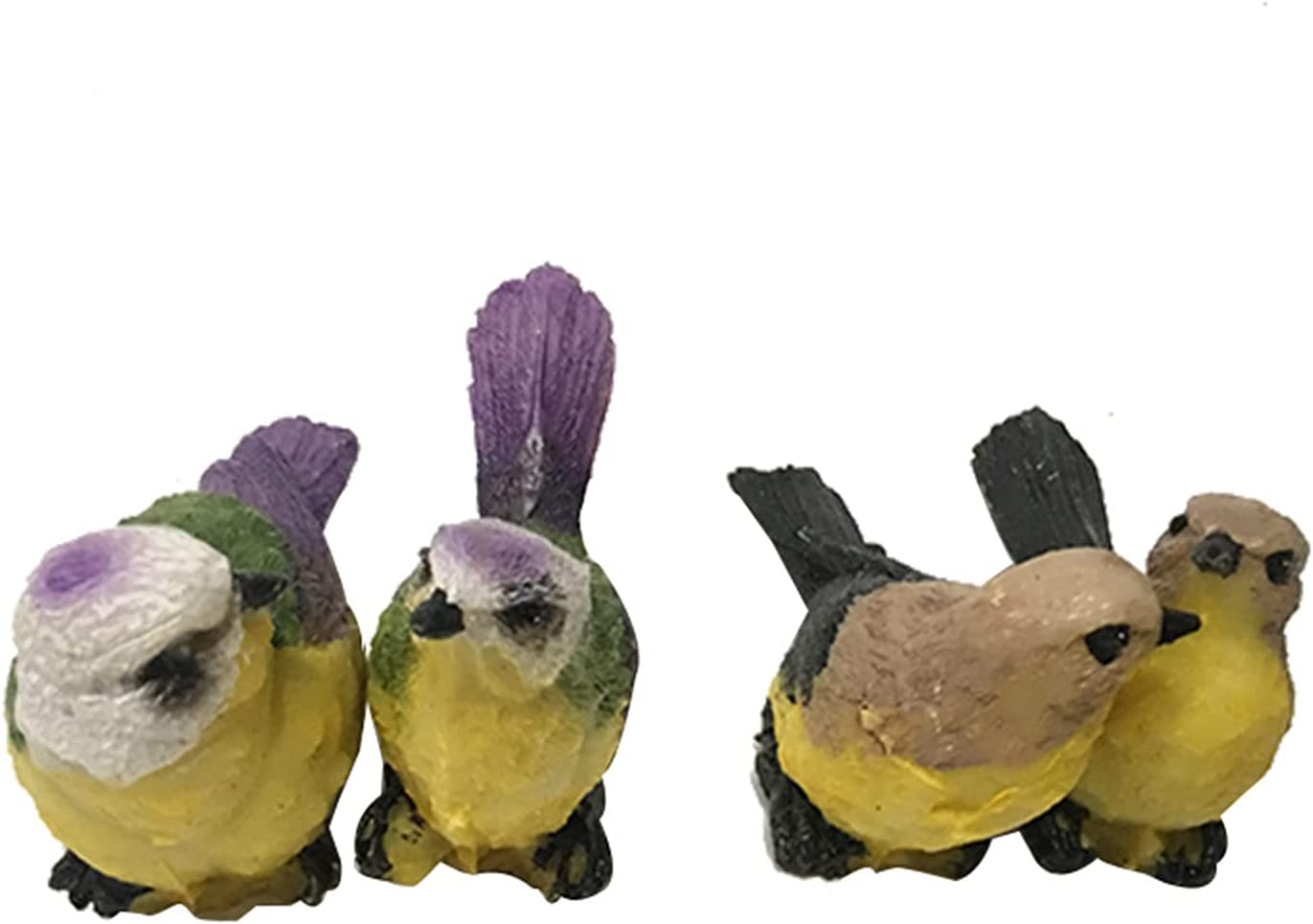 SDLAJOLLA Simulation Birds Ornament Now on sale Cute Animal St Garden Resin New mail order