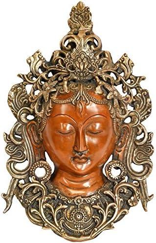 Exotic Same day shipping India Tibetan mart Buddhist Wall Hanging Mask Tara Statues