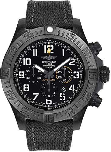 Breitling Avenger Hurricane XB0170E4/BF29-100W - Reloj para hombre (50 mm, correa de lona antracita)