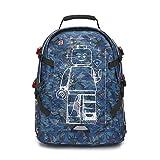 LEGO レゴ バックパック キッズ リュック 子供 リュックサック デイパック バッグ かっこいい 幼稚園 通園 入園 入学 男の子 女の子 遠足 Tech Teen Backpack ブルーカモ